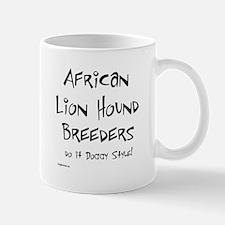African Lion Hound Doggy Style Mug