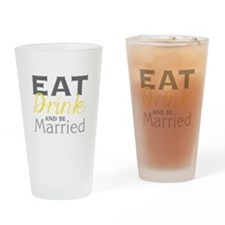 Be Married Drinking Glass