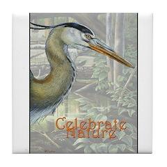 Celebrate Nature Tile Coaster