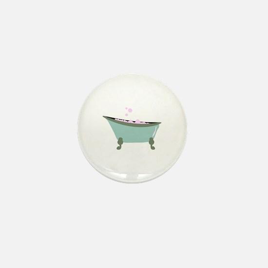Bubble Bath Mini Button