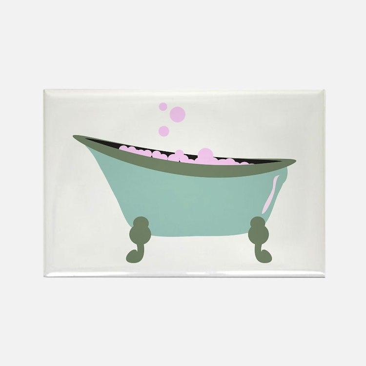 bathtub magnets bathtub refrigerator magnets cafepress. Black Bedroom Furniture Sets. Home Design Ideas