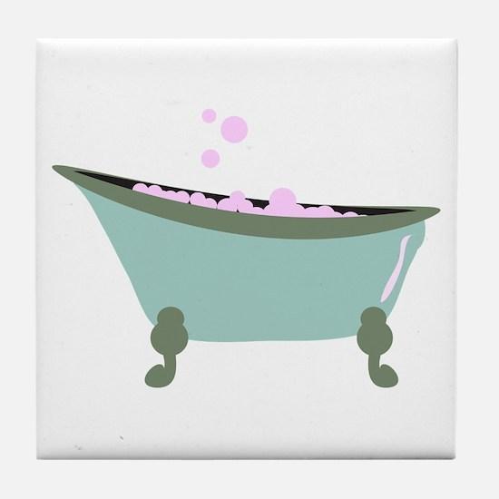 Bubble Bath Tile Coaster