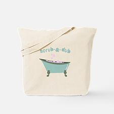 Scrub-a-dub Tub Tote Bag