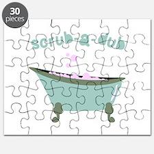Scrub-a-dub Tub Puzzle