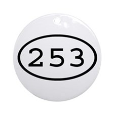 253 Oval Ornament (Round)