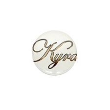 Funny Kyra Mini Button (10 pack)