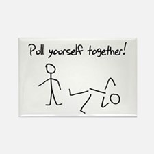 Pull yourself together! Magnets