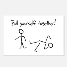Pull yourself together! Postcards (Package of 8)
