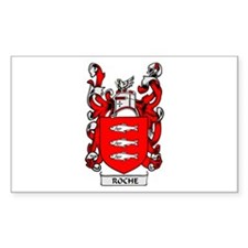 ROCHE Coat of Arms Rectangle Decal