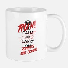 Run! Zombies Are Coming Mugs