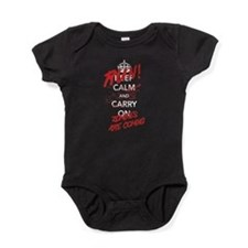 Run! Zombies Are Coming Baby Bodysuit