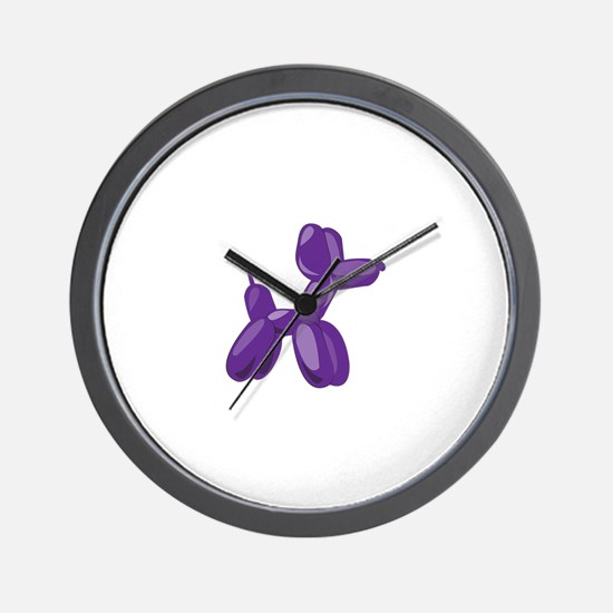 Balloon Dog Wall Clock