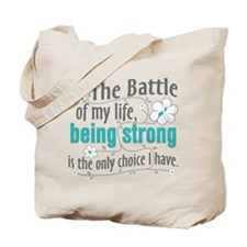 Cervical Cancer Battle Tote Bag