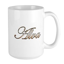 Gold Alva Mugs