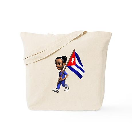 Cuba Girl Tote Bag