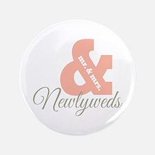 """Newlyweds 3.5"""" Button"""