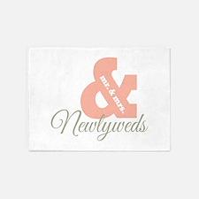Newlyweds 5'x7'Area Rug