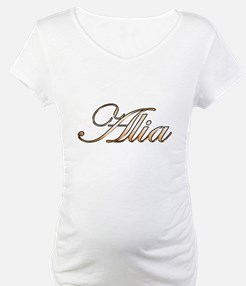 Gold Alia Shirt