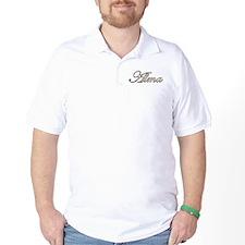 Alma name in Gold T-Shirt