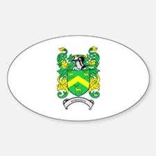 ROBINSON Coat of Arms Oval Decal