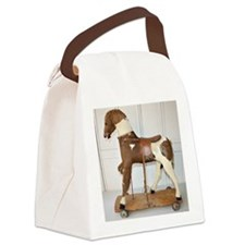 rare antique frenh hobbyhorse Canvas Lunch Bag