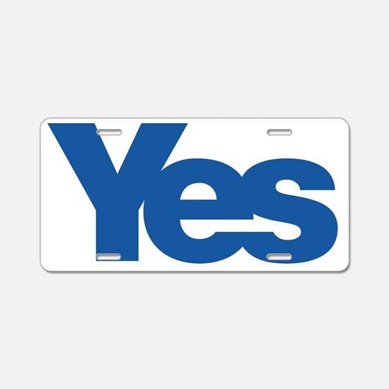 Funny Independence for scotland. Aluminum License Plate
