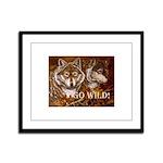 Go Wild Framed Panel Print
