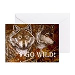Go Wild Greeting Cards (Pk of 10)