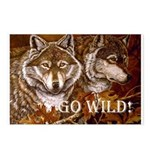 Go Wild Postcards (Package of 8)