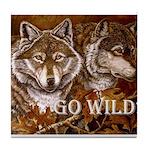 Go Wild Tile Coaster
