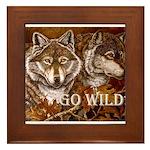 Go Wild Framed Tile