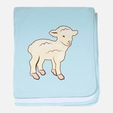 Little Lamb baby blanket