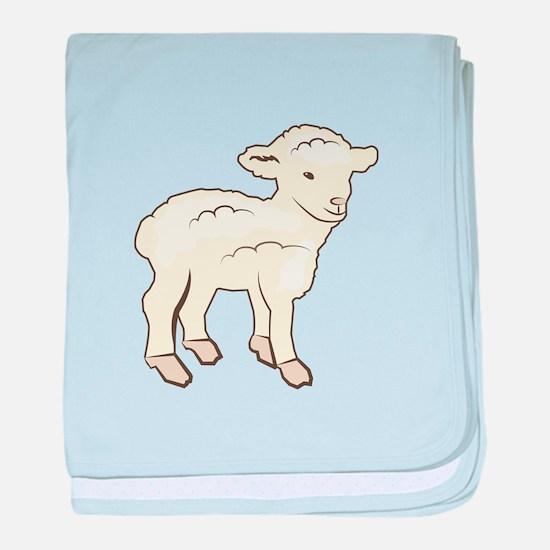 Little Lamb baby blanket