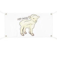 Littlie Lambchop Banner