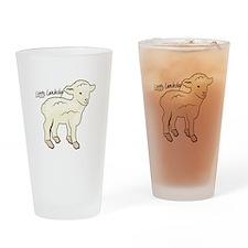 Littlie Lambchop Drinking Glass