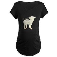 Littlie Lambchop Maternity T-Shirt