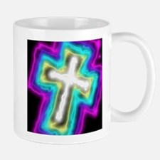 Electrifying Cross Mugs