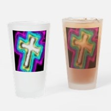 Electrifying Cross Drinking Glass
