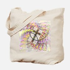 The Cross and the Fish. Tote Bag