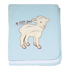 My Little Lamb baby blanket