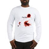 I\'m fine tee Long Sleeve T-shirts