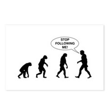 Stop Following Me! Postcards (Package of 8)