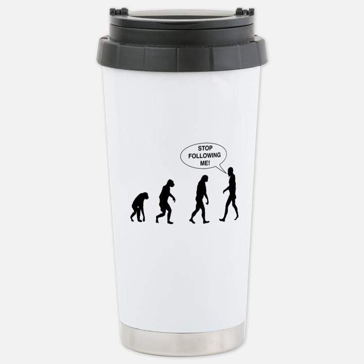 Stop Following Me! Travel Mug