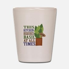 Requires Basil Shot Glass
