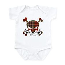 MacFarlane Tartan Skull Infant Bodysuit
