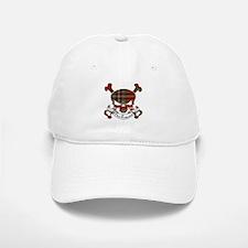 MacFarlane Tartan Skull Baseball Baseball Cap