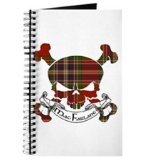 MacFarlane Tartan Skull Journal