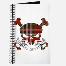 MacFarlane Tartan Skull Journal