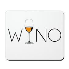 Wino Wine Lover Glass Mousepad