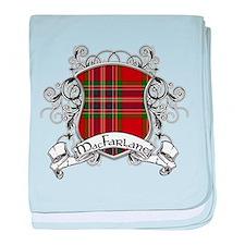 MacFarlane Tartan Shield baby blanket